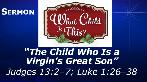 12.12.18 Sermon