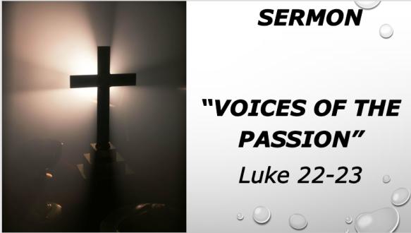 4.14.19 Sermon