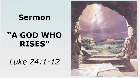 4.21.19 Sermon