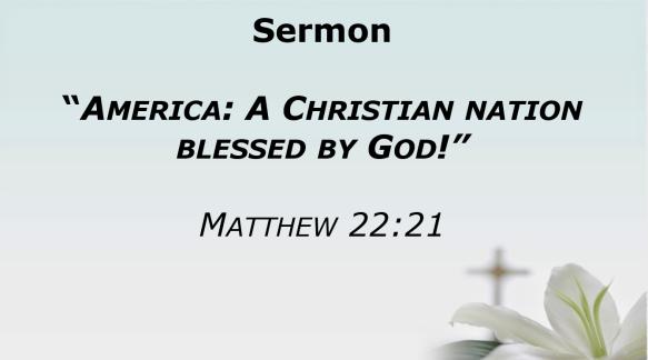 06.30.19 Sermon