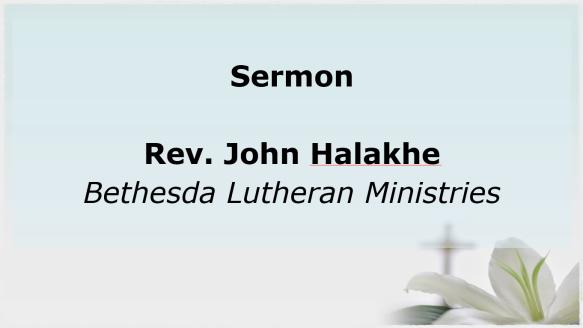 7.21.19 Sermon