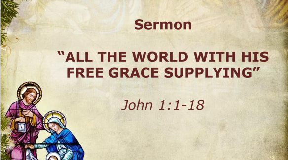 12.25.19 Sermon